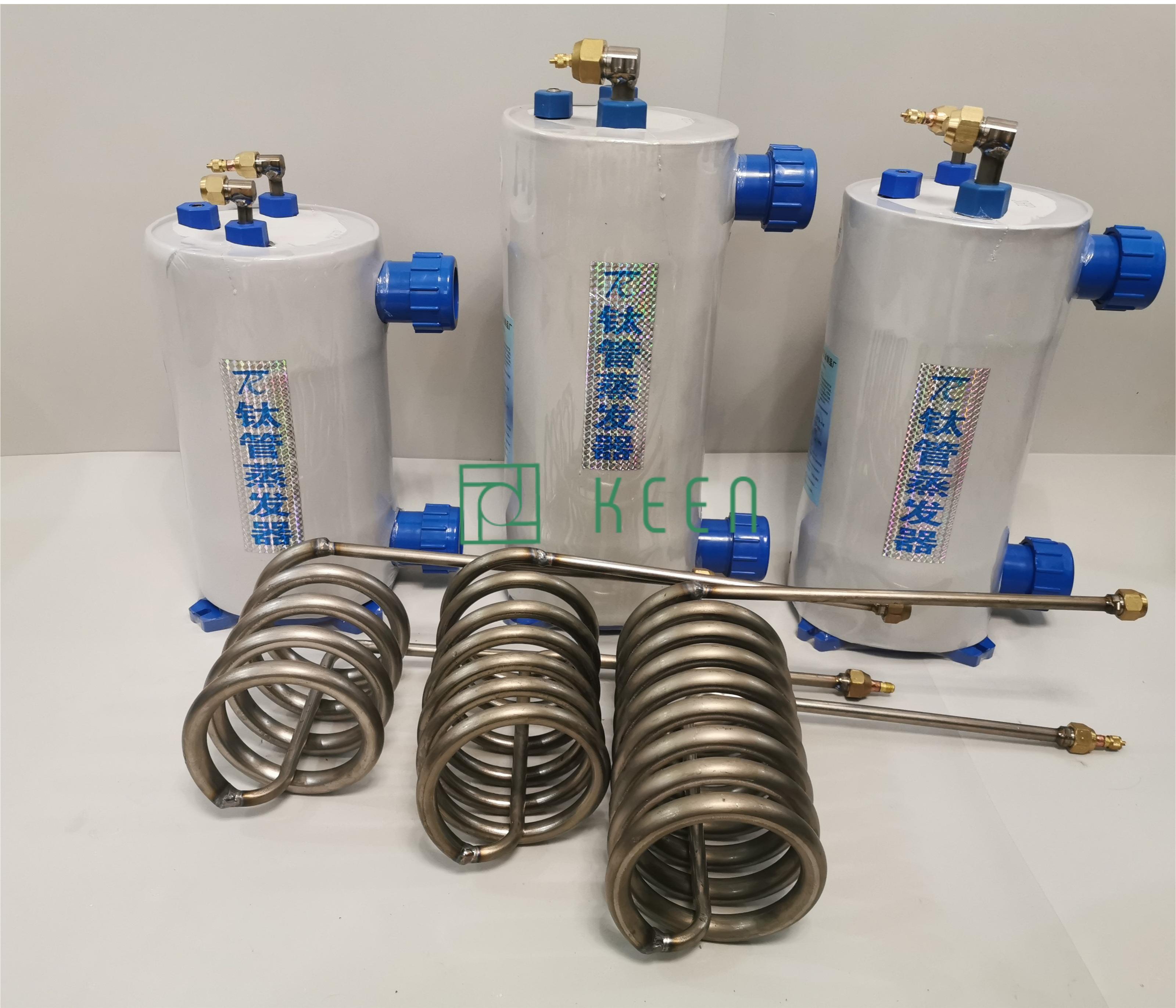 Bầu lạnh Titan 1.5HP thiết bị làm lạnh nước hồ cá